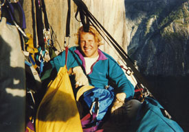 Chris Kane on Tangerine Trip, El Capitan, Yosemite National Park -