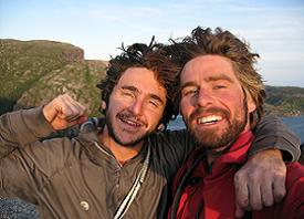 Eli Simon and Pete Fasoldt, Newfoundland, Canada -