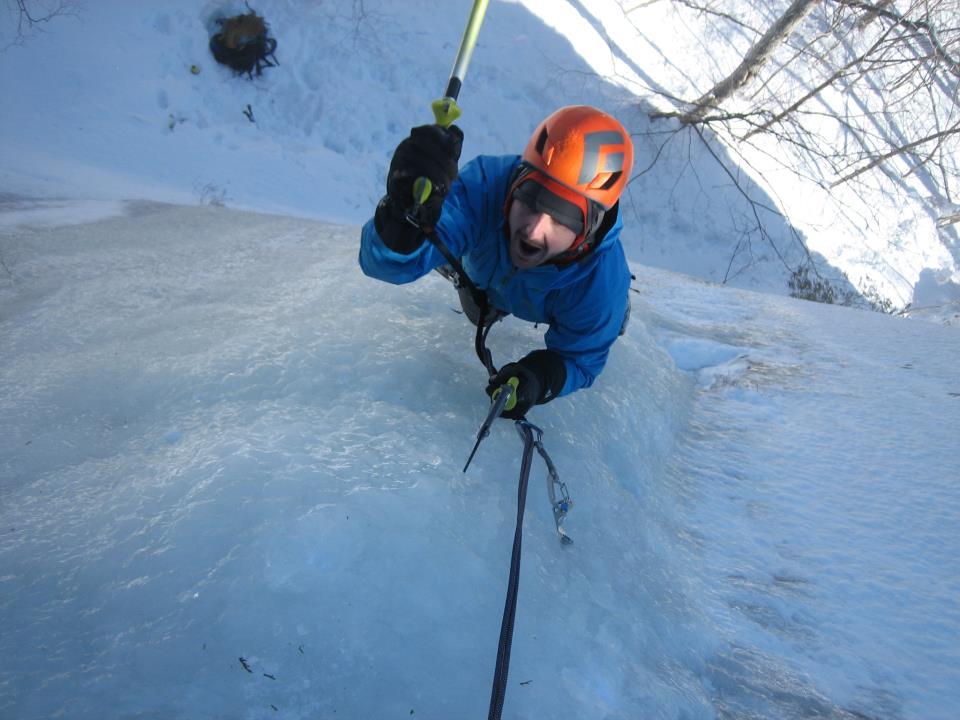 Ice Climbing -