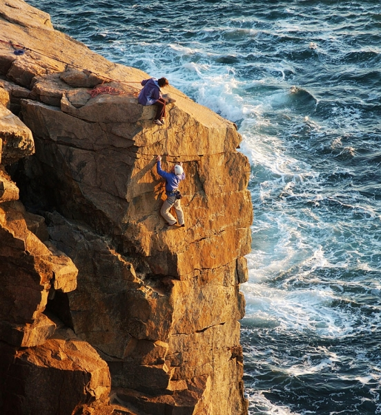 Mermaid Wall - Acadia National Park