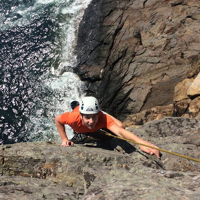 @acadianps I love you soooooooooooo much! #rockclimbing #atlanticclimbingschool #climbacadia #climbmaine