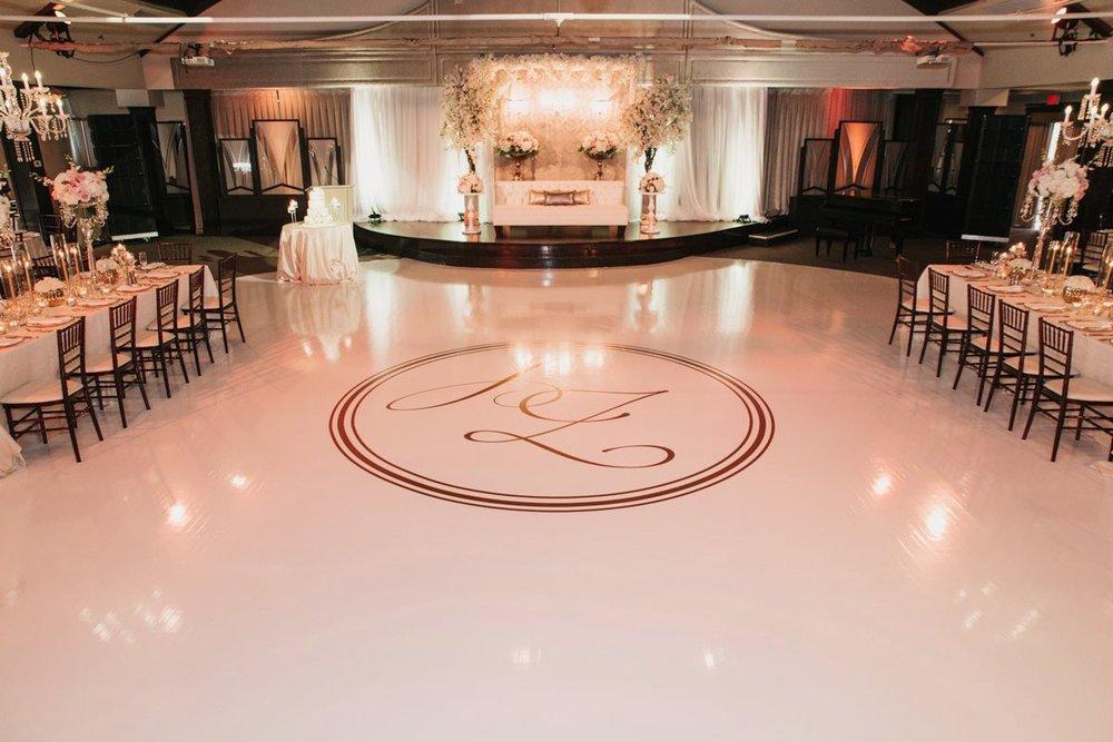 Monogram Dance Floor