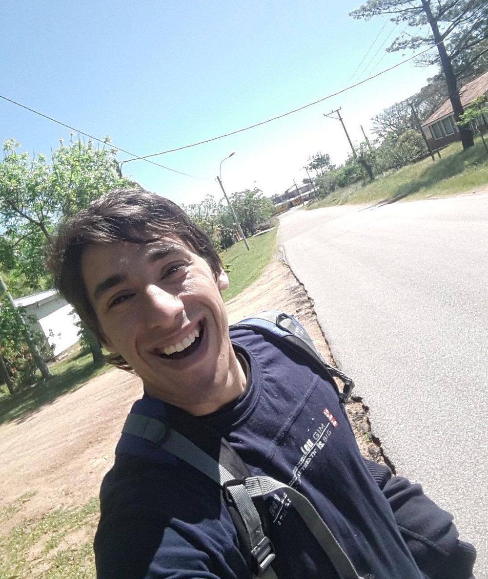 Pablo Piñeyro, 24 años. Montevieo, Uruguay.
