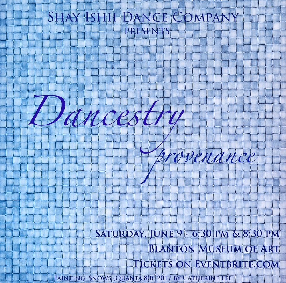 June 9, 2018 - Blanton Museum of ArtAustin, TexasErick Hawkins Dance Company performs in Dancestry presented by the Shay Ishii Dance Company with artist Catherine Lee