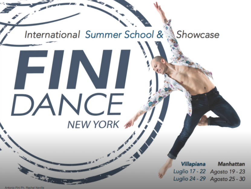 August 23, 2018 - FINI Dance FestivalNew York, New YorkHawkins Master Class