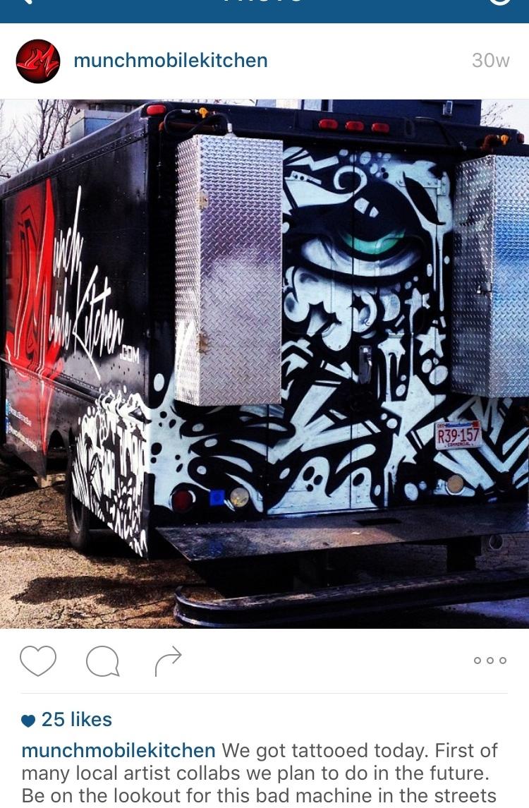 Follow Munch Mobile Kitchen - Instagram: @munchmobilekitchenTwitter: @munchmobilekitcFacebook: @munchmobilekitcMunch Mobile Kitchen