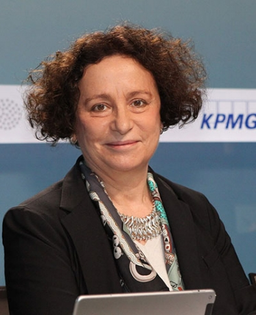 Ana Palacio    is a former Member of the Council of State for the Spanish government and former Minister of Foreign Affairs of Spain. Ms. Palacio is also the Founding Partner of Palacio y Asociados, a Madrid-based consulting and law firm that advises clients on business in Brussels and the European Union. Ms. Palacio was the first woman to serve as Foreign Minister of Spain, from 2002-2004. Previously she was a Member of the European Parliament (1994 - 2002) where she chaired the Conference of Committee Chairs and, from 2004 to 2006, she was member of the Spanish Parliament, chairing the Joint Committee of the two Houses for European Affairs. In 2006, she became Senior Vice-President and General Counsel of the World Bank Group as well as Secretary General of ICSID.    Read full bio  .