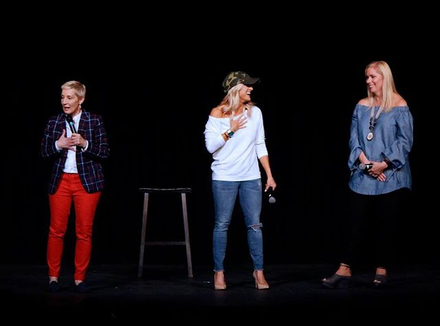 It's a shame we never have any fun together! 😉❤️ Our tour schedule is live on our website. Link in our bio. 🙌🏽 #countrycool #comedy