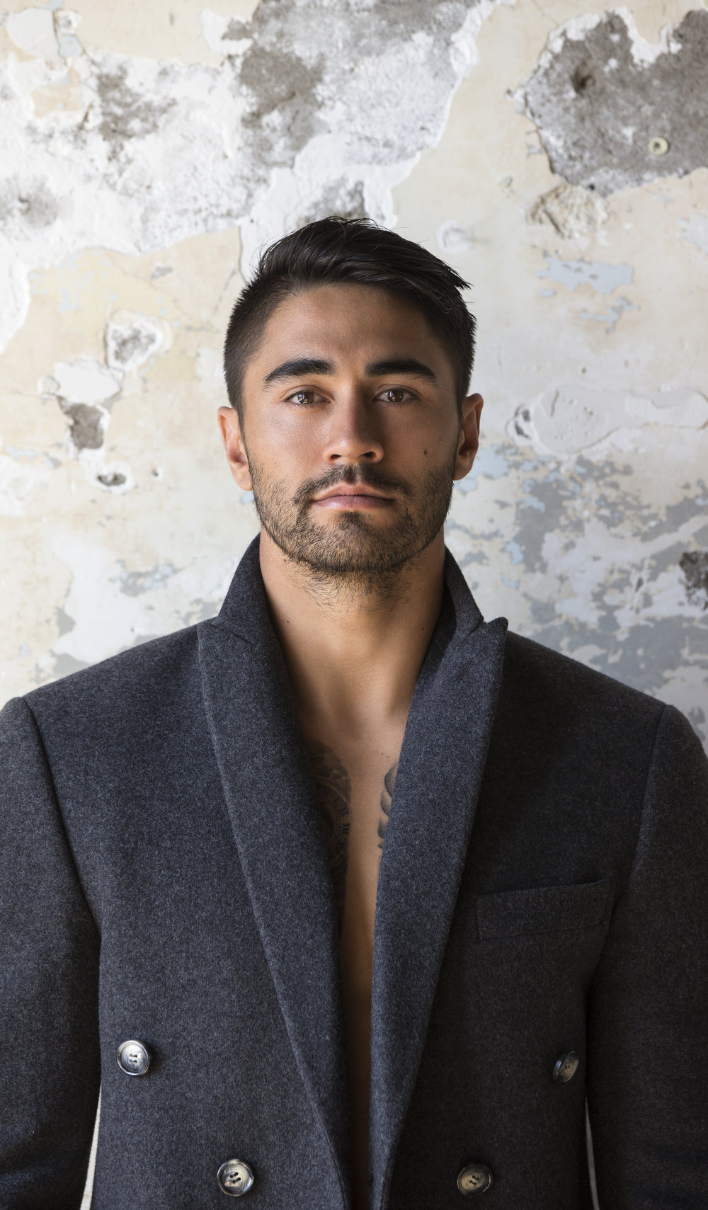 Warrior league player Shaun Johnson. VIVA MAGAZINE, Photographer: Guy Coombes.