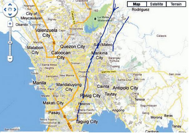 Philippine West Valley Fault Line Map EARTHQUAKE RESILIENCE CONFERENCE: Collaboration and Coordination
