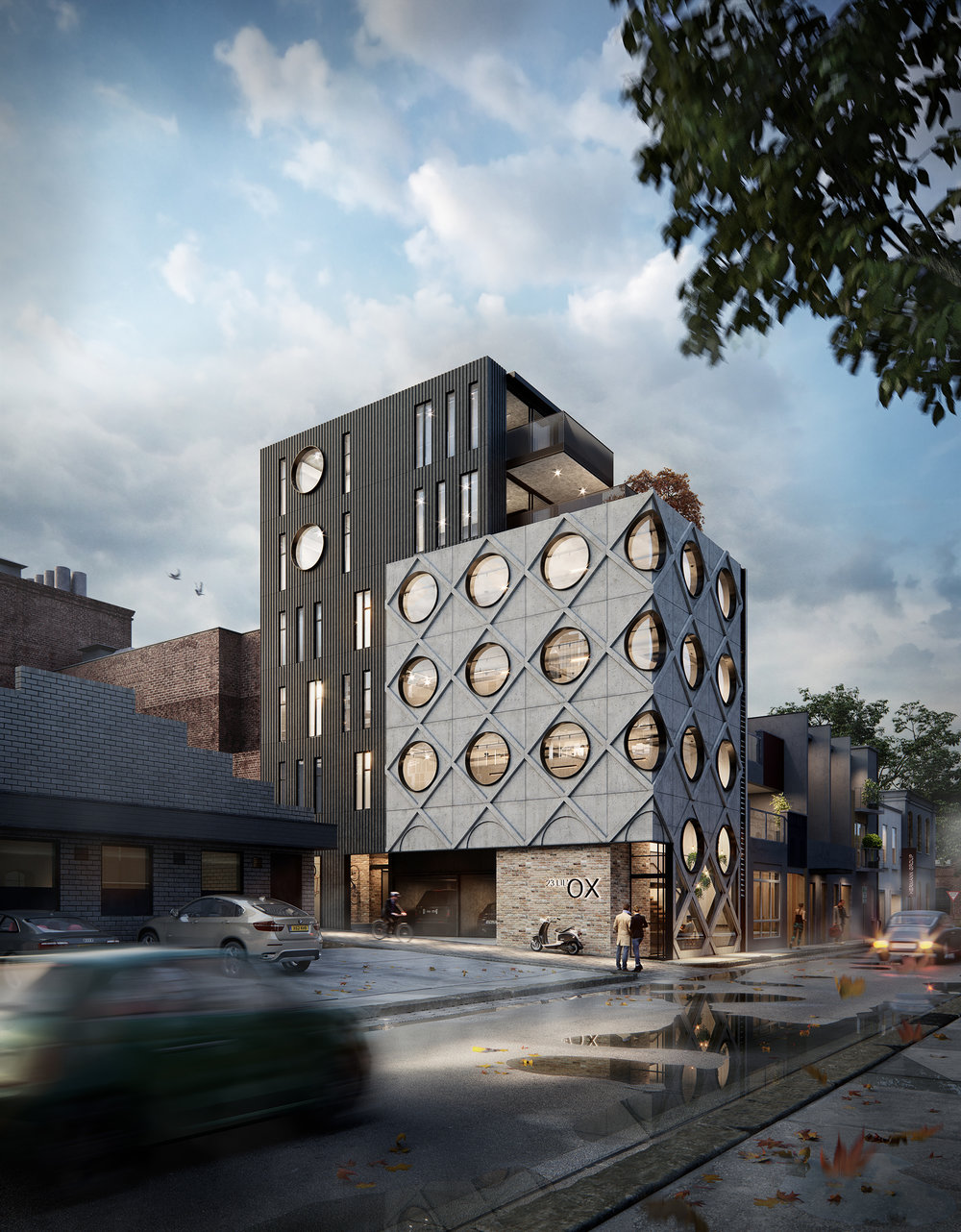 TaylorPresslyArchitects Collingwood Mix-use Building Commerical & Residential