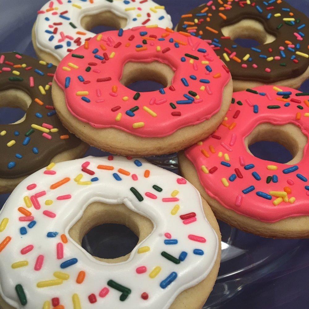 "Customized ""Donut"" Sugar Cookies"