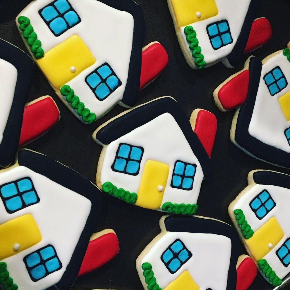 Custom Housewarming Welcome Home Sugar Cookies