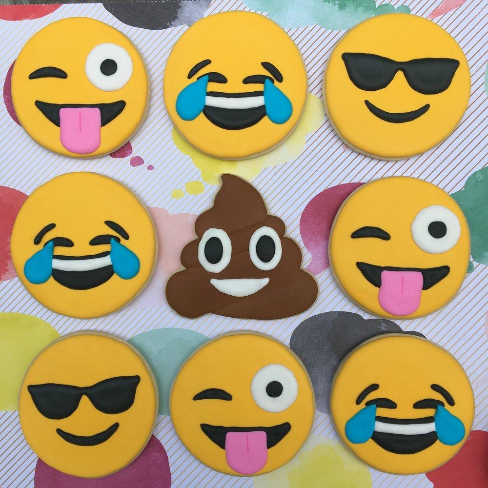 Emoji Customized Sugar Cookies