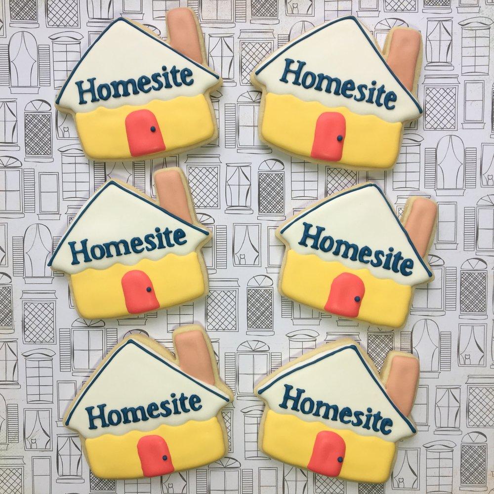 Homesite Logo Cookies