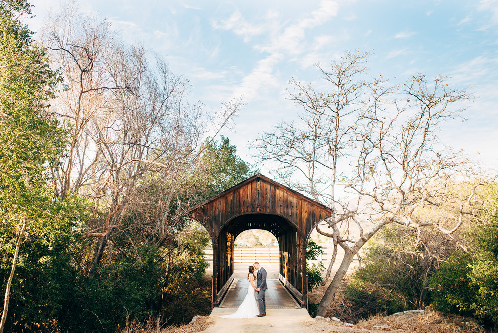 california wedding venue: flying caballos ranch