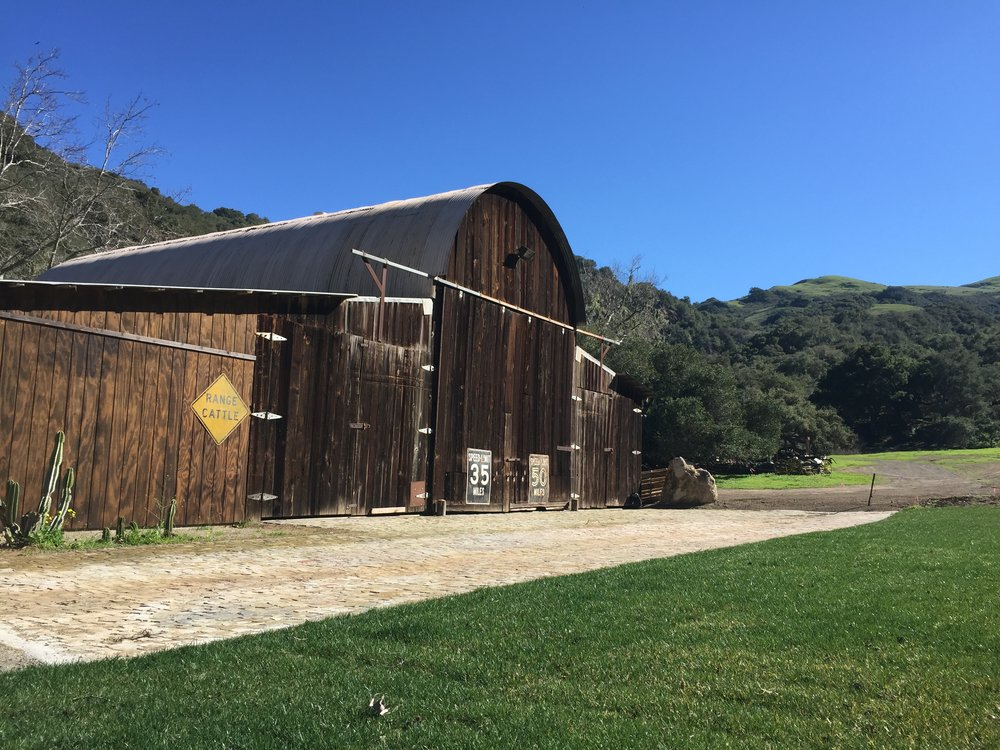 california wedding venue: beecham ranch