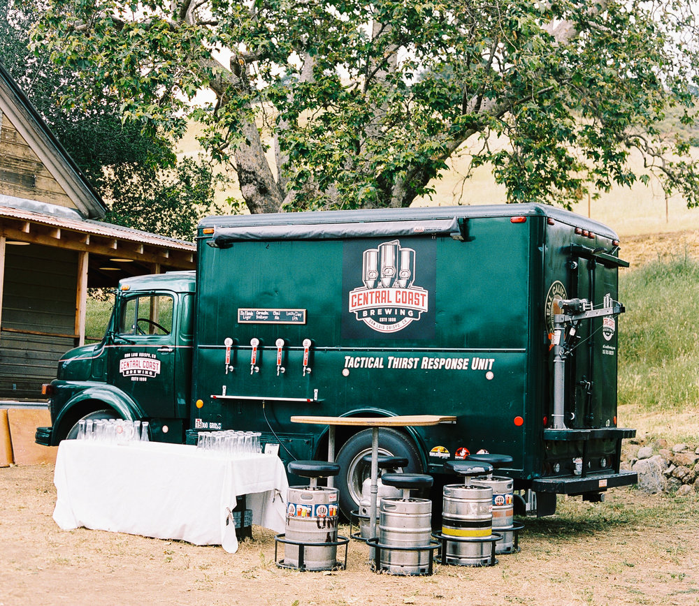 Central Coast Brewing Tactical Thirst Response Unit Beer Truck San Luis Obispo