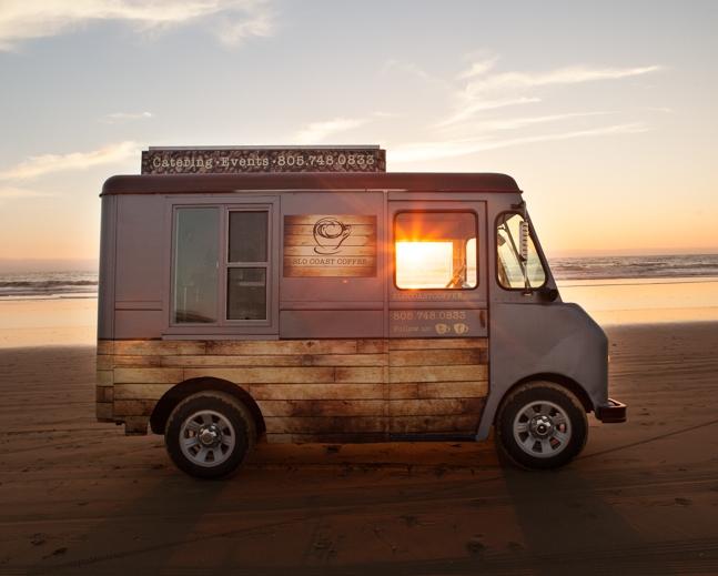 SLO Coast Coffee Catering Truck San Luis Obispo