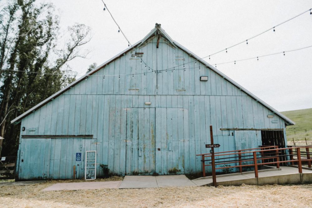 california wedding venue: swallow creek ranch