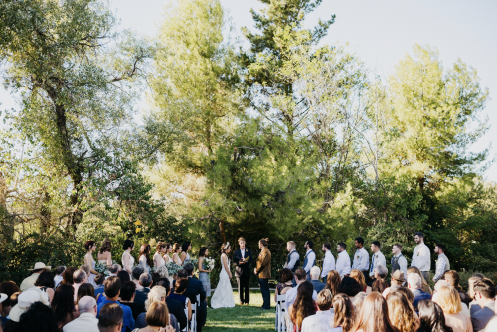 california wedding venue: the groves on 41