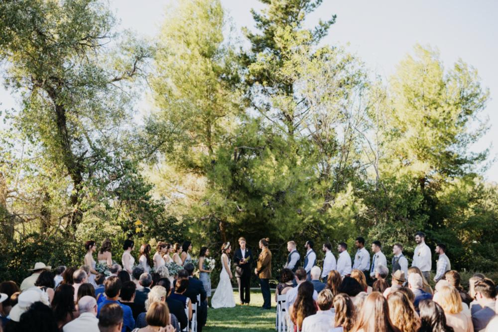 california wedding venue: the groves on 41