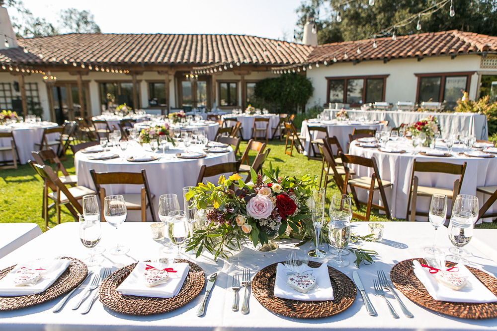 california wedding venue: casitas estate