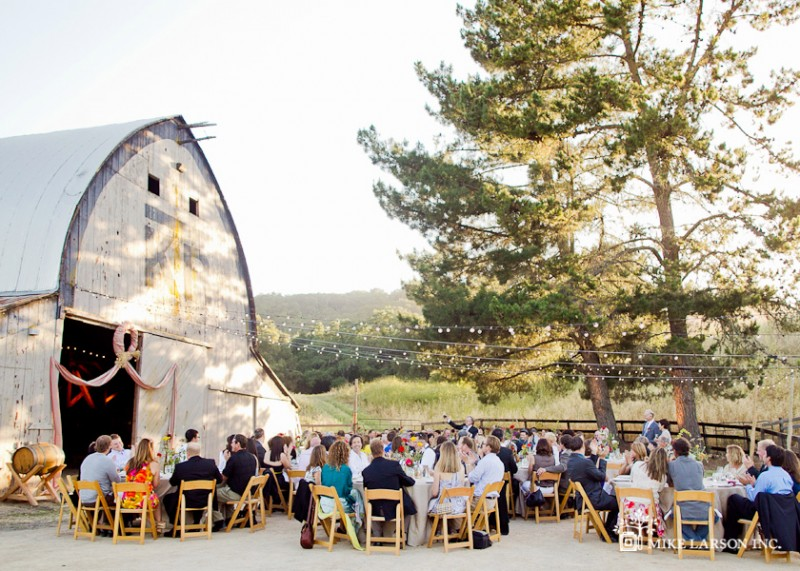 california wedding venue: thacher winery and vineyard