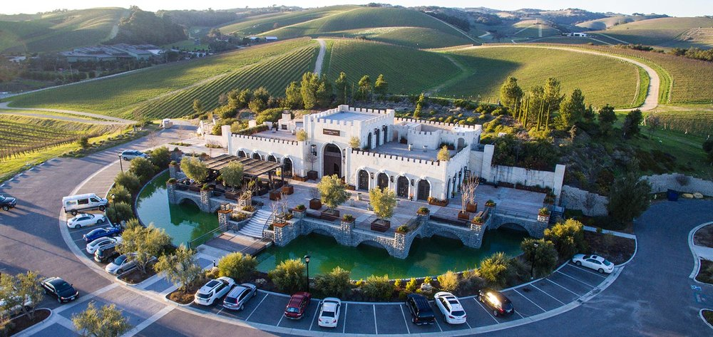 california wedding venue: tooth and nail winery