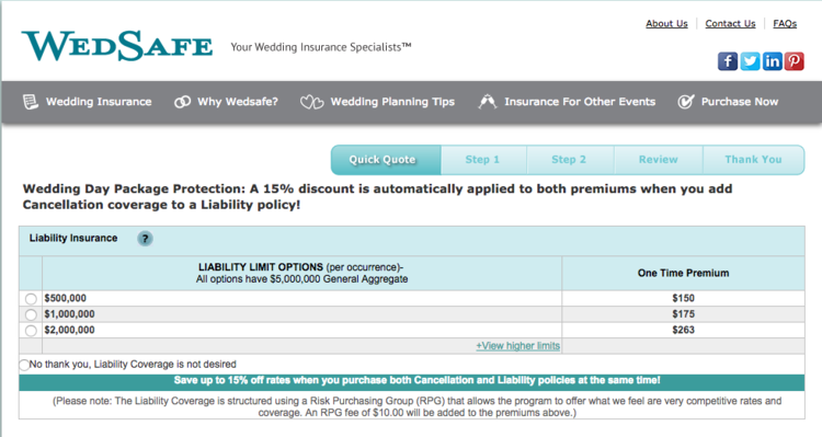 Wed Safe Wedding Insurance