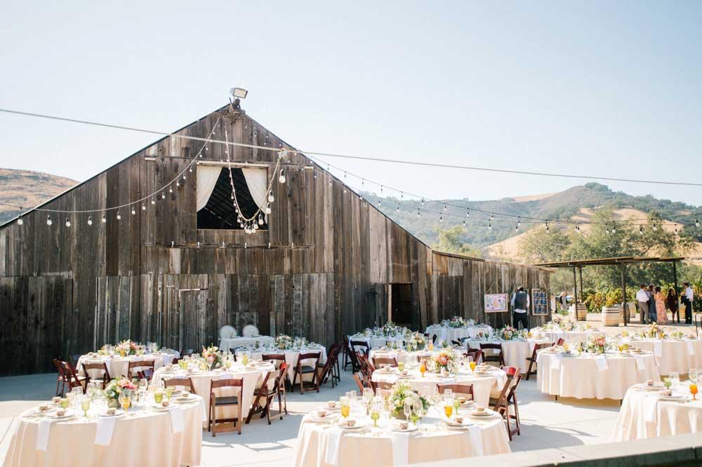 california wedding venue: higuera ranch