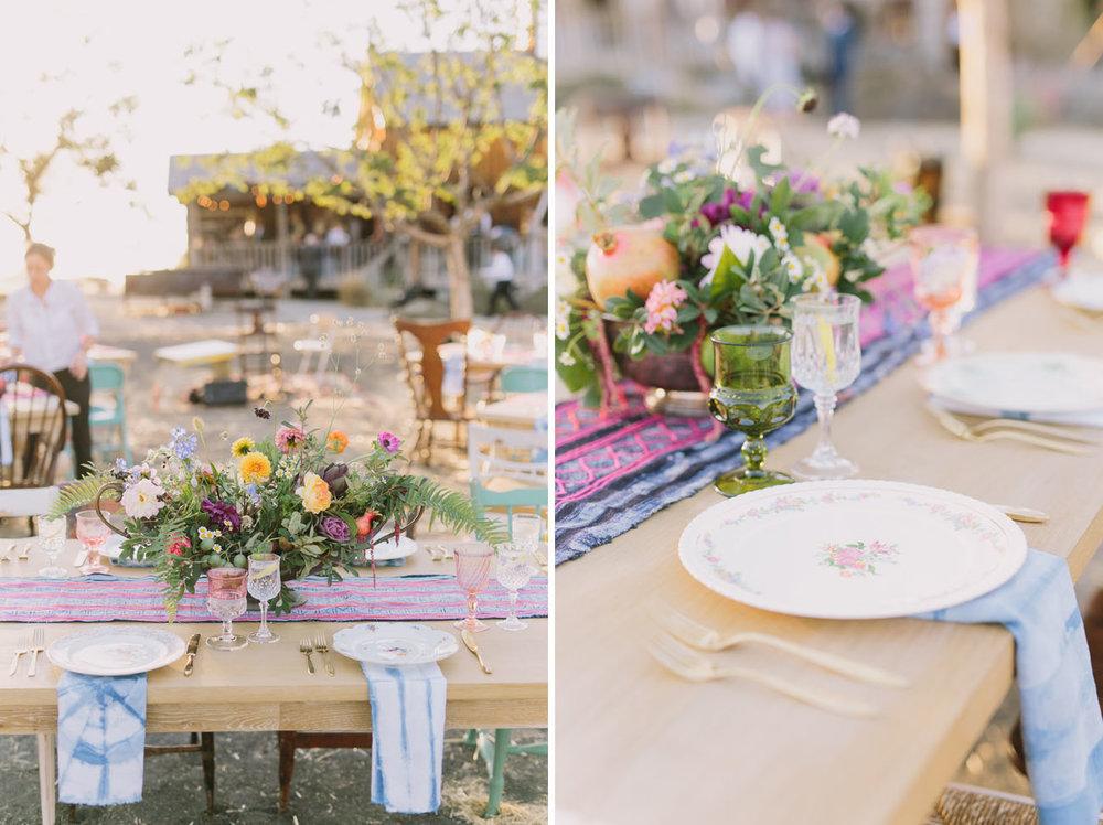 california wedding vedor: forage florals