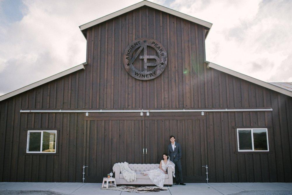 sweet vineyard + barn