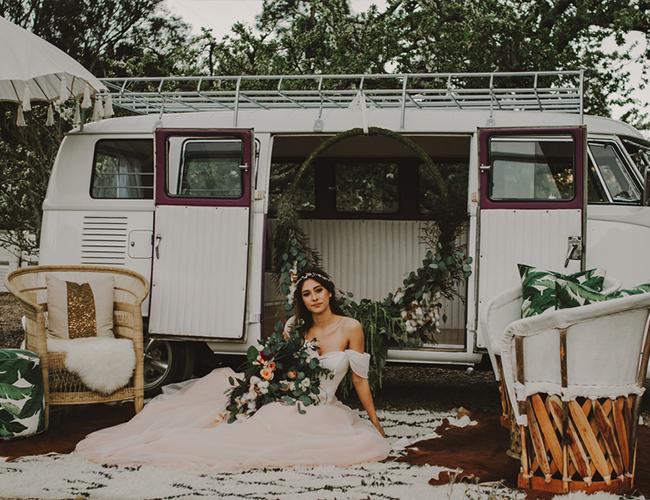 california wedding vendor: clover + branch