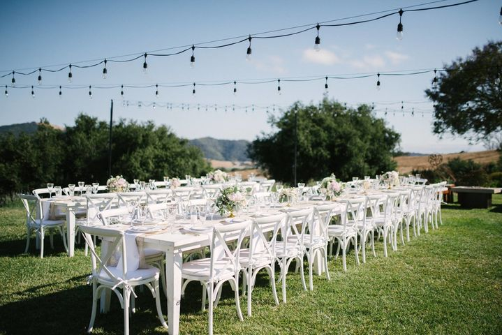 central coast tent + party