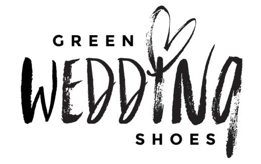 goodheart design green wedding shoes