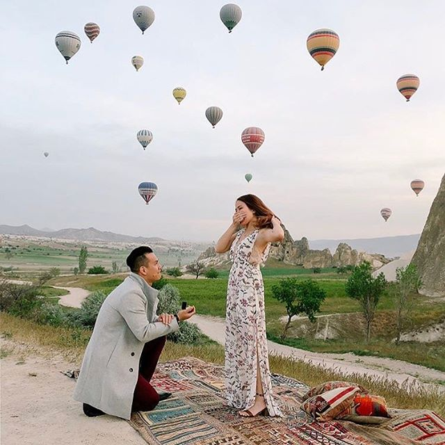 "we said ""yes"" to this epic proposal. 