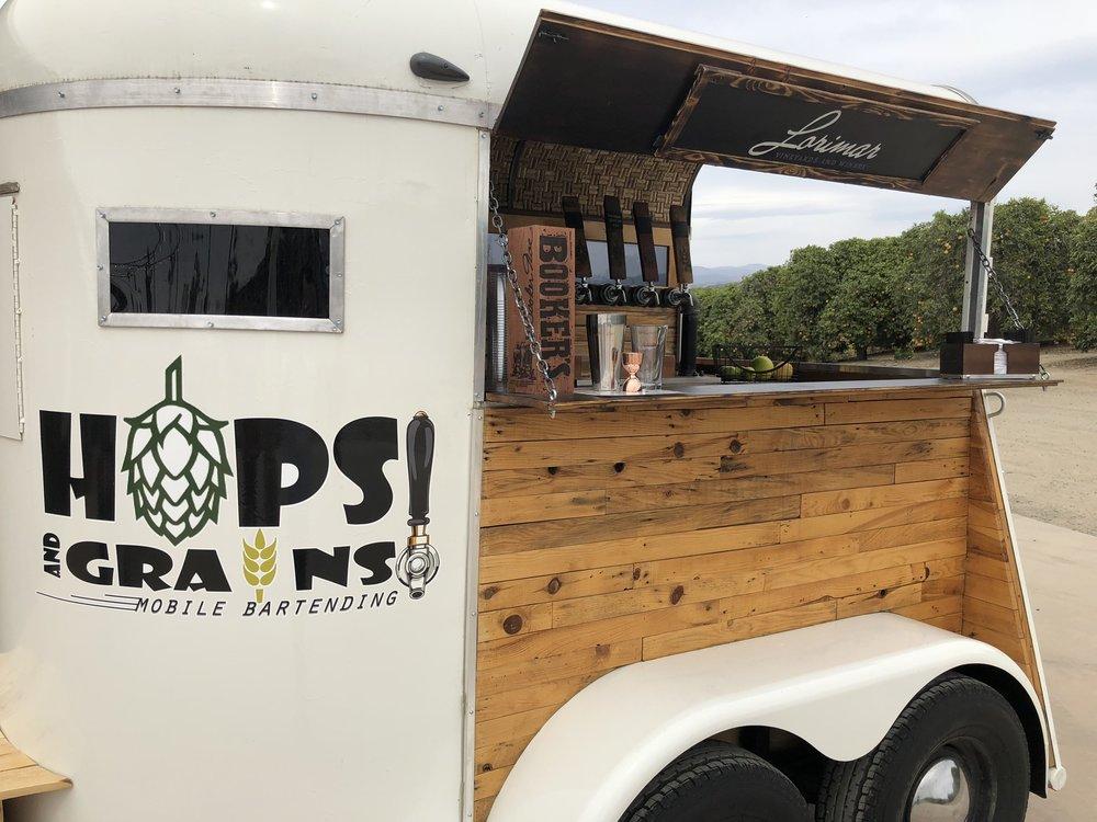 hops & grains mobile bartending