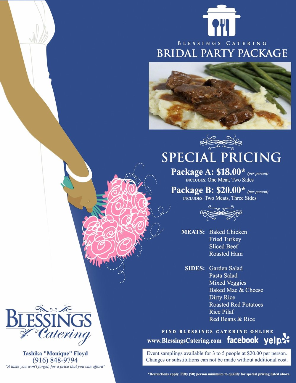 blessings catering