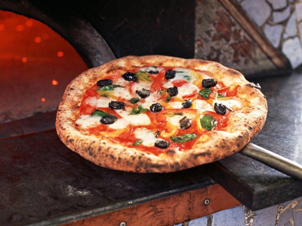 woodfire pizza wagon