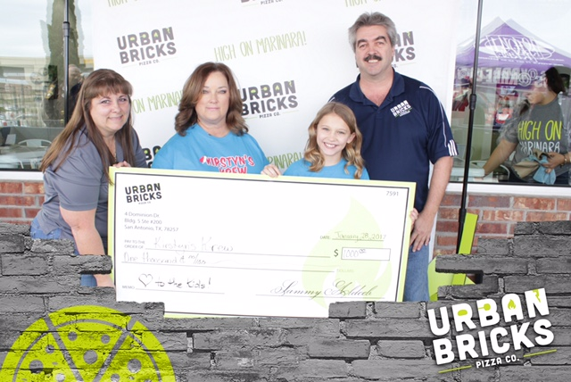 Urban Bricks supported Kirstyn's Krew during their grand opening!