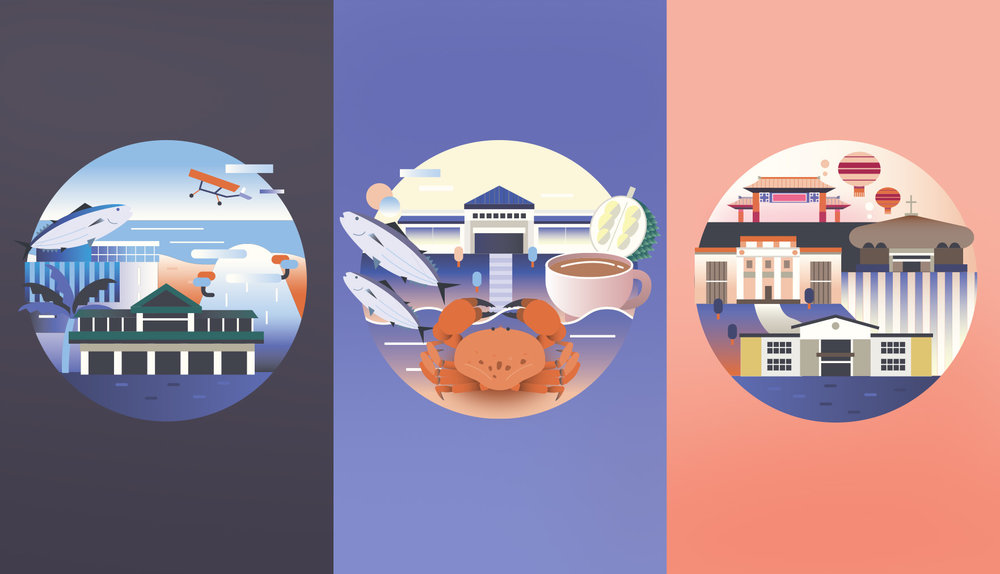Davao, Editorial Features Illustration