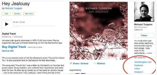 Why Bandcamp is a Godsend for Indie Musicians Like Me — Richard Turgeon