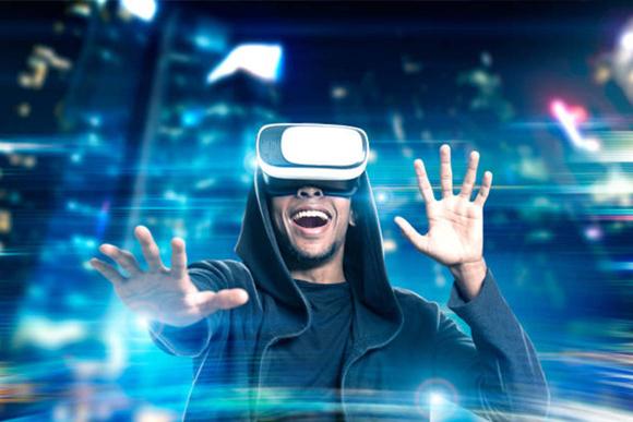 GLO Mini golf virtual reality -
