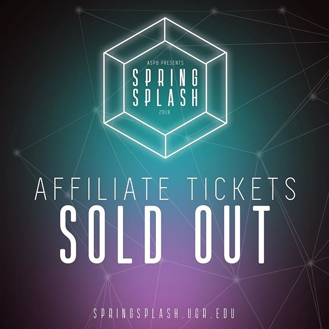 ‪Spring Splash 2018 Affiliate Tickets are now SOLD OUT! See you at Spring Splash! ✌🏻