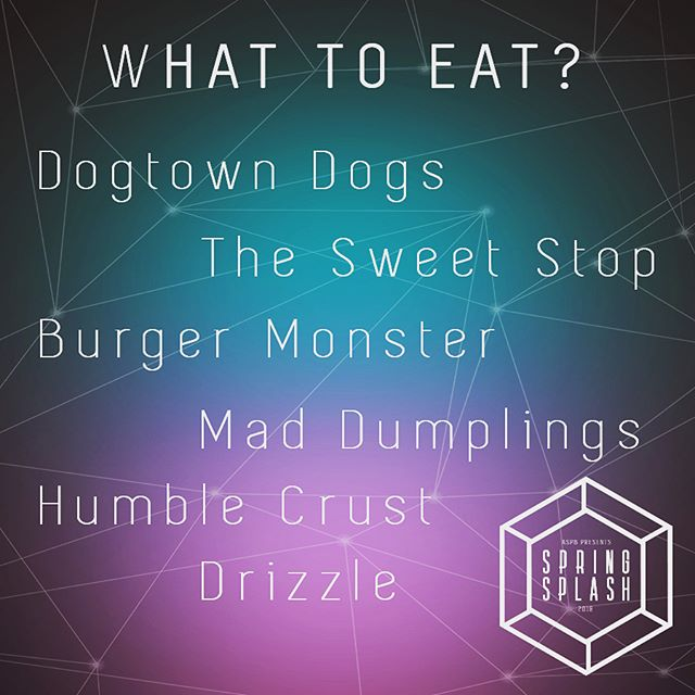 What will you choose? 🍴 We will also have our local UCR Moo Moo, Chameleon, and Growl Grill! 😋 May 12, 2018 3:30-9pm at the HUB Lawn! #UCRSpringSplash2018