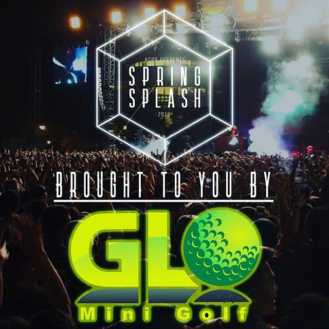 We would like to thank our sponsor @glo_mini_golf for their generous contributions to Spring Splash 2018! Experience Mini-Golf like never before with GLO! Located in the Galleria at Tyler, GLO is an indoor, glow in the dark mini golf course featuring 27 holes! But that's not all! GLO also excels in entertainment with their Arcade, Gaming Room, and VR Station!