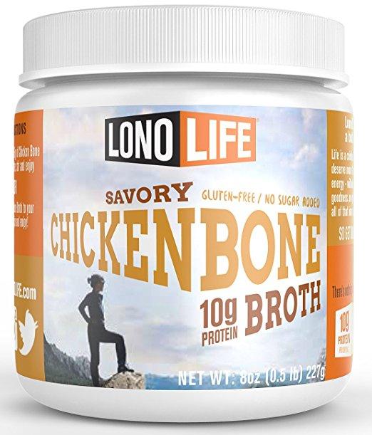 - Bone Broth = Aloe Vera for your gut!