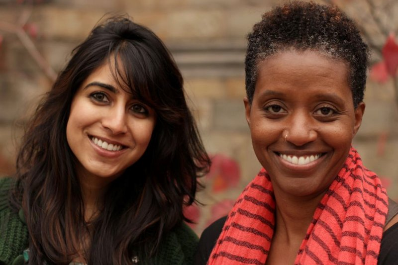 Sejal Hathi and Tara Roberts, founders of Girltank.