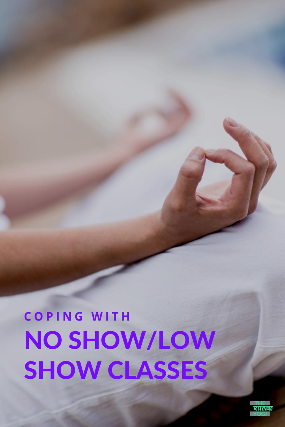 no show/low show yoga class
